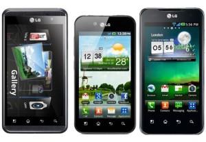 cellulari e smartphone LG android