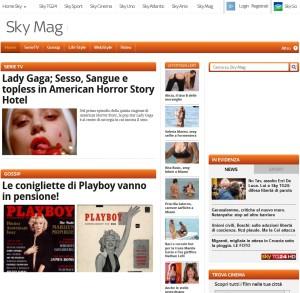 sezione Gossip è un'ottima fonte di notizie